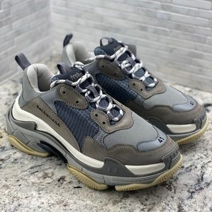 Balenciaga Triple S Trainer Grey Size 8